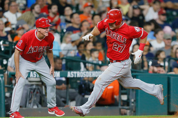 Ron Roenicke Los Angeles Angels of Anaheim v Houston Astros