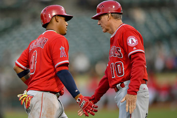Ron Roenicke Los Angeles Angels of Anaheim v Oakland Athletics