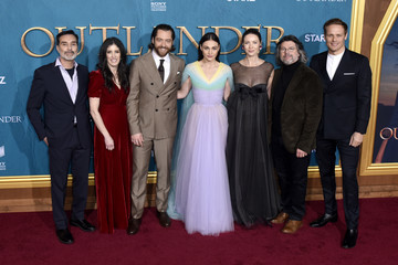 "Ronald D. Moore Caitriona Balfe Starz Premiere Event For ""Outlander"" Season 5"