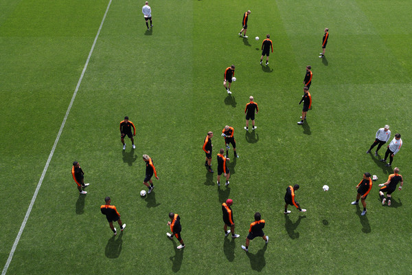 Previews: Portugal vs. Netherlands - UEFA Nations League Final [previews,sport venue,team sport,player,stadium,football player,ball game,sports,team,soccer-specific stadium,grass,view,portugal,netherlands,training ground,braga,sporting clube de braga stadium,uefa nations league final,netherlands training session]