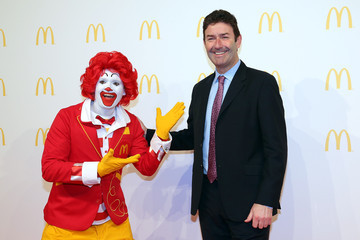 Ronald Mcdonald McDonald's Flagship Restaurant Re-Opening In Frankfurt/Main