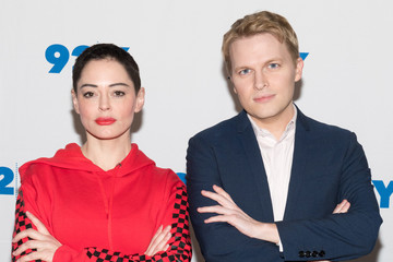 Ronan Farrow  92Y: Rose McGowan and Ronan Farrow