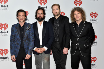 Ronnie Vannucci 2015 iHeartRadio Music Festival - Night 1 - Backstage
