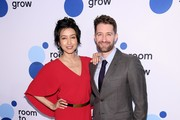 """Renee Puente and Matthew Morrison attend """"Room To Grow"""" Spring Benefit at Guastavino's on April 04, 2019 in New York City."""