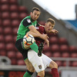 Rory McArdle Northampton Town v Scunthorpe United - The Emirates FA Cup First Round