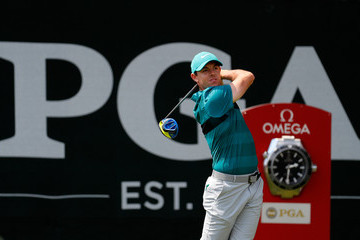 Rory McIlory PGA Championship - Round Two