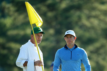 Rory McIlroy J-p Fitzgerald The Masters - Preview Day 2