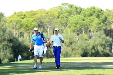 Rory McIlroy J-p Fitzgerald Turkish Airlines Open - Day Two