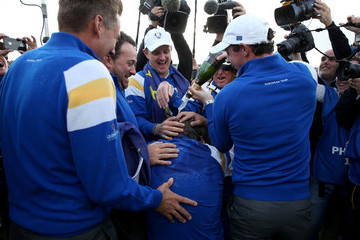 Rory McIlroy Victor Dubuisson Singles Matches - 2014 Ryder Cup