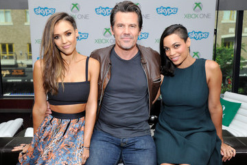 Rosario Dawson Xbox VIP Lounge At The Hard Rock Hotel
