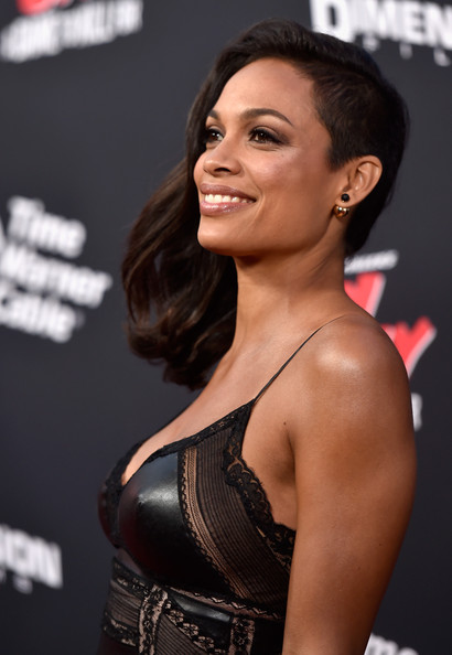 Rosario Dawson Actress Rosario Dawson attends Premiere of Dimension ...