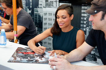 "Rosario Dawson ""SIN CITY: A DAME TO KILL FOR"" Experience At Comic-Con 2014"