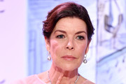 Princess Caroline of Hanover arrives at the Rose Ball 2018 To Benefit The Princess Grace Foundation at Sporting Monte-Carlo on March 24, 2018 in Monte-Carlo, Monaco.