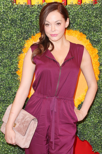 Rose McGowan - Third Annual Veuve Clicquot Polo Classic - Los Angeles - Arrivals