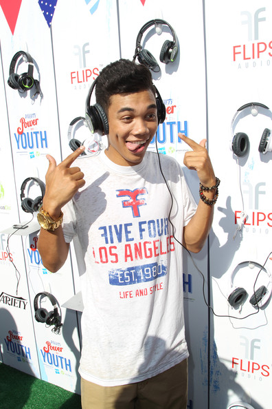 Roshon Fegan - Variety's Power Of Youth Presented By Hasbro And GenerationOn - Flips Audio Arrivals