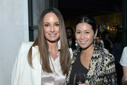 Catt Sadler (L) and  Raissa Gerona attend the launch of the Rosie HW x PAIGE Collection, hosted by Rosie Huntington-Whiteley and Paige Adams-Geller, at Ysabel on February 15, 2017 in West Hollywood, California.