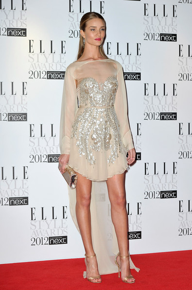 Rosie Huntington-Whiteley - ELLE Style Awards 2012 - Inside Arrivals