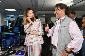 Rosie Perez Annual Charity Day Hosted By Cantor Fitzgerald, BGC and GFI - Cantor Fitzgerald Office - Inside