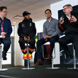 Ross Brawn Tata Communications at the United States Grand Prix