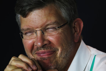 Ross Brawn F1 Grand Prix of Italy: Practice
