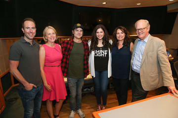 Ross Copperman ACM Lifting Lives Music Camp Recording Studio Day With Hillary Scott And Ross Copperman