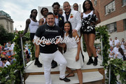 Ross Mathews, George Carrancho, Sean Franklin, Cherilyn Williams and The Prancing Elites at D.C. Capital Pride Parade For Marriott International's #LoveTravels Campaign on June 13, 2015 in Washington, DC.