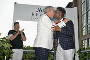 Ross Mathews Officiates Wedding of George Carrancho and Sean Franklin who were married at D.C. Capital Pride Parade For Marriott International's #LoveTravels Campaign on June 13, 2015 in Washington, DC.