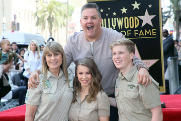 Ross Mathews Steve Irwin Honored Posthumously With Star On The Hollywood Walk Of Fame