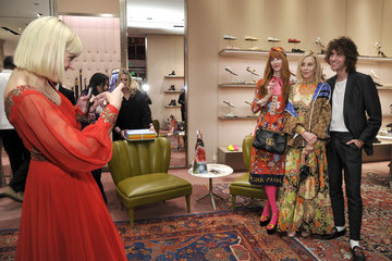 Rosson Crow Paige Powell Gucci Celebrates The Release Of Paige Powell In LA