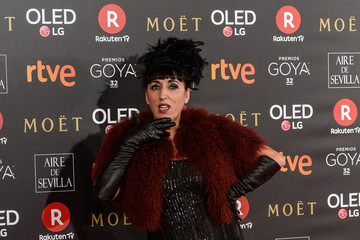 Rossy De Palma Goya Cinema Awards 2018 - Red Carpet