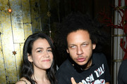 """Abbi Jacobson and Eric Andre attend the after party for the """"Rough Night"""" premeire at Diamond Horseshoe on June 12, 2017 in New York City."""