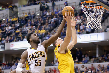 Roy Hibbert Cleveland Cavaliers v Indiana Pacers