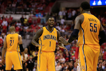 Roy Hibbert Indiana Pacers v Washington Wizards - Game Four
