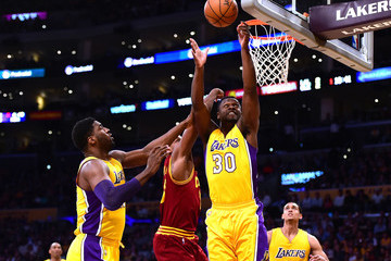 Roy Hibbert Cleveland Cavaliers v Los Angeles Lakers