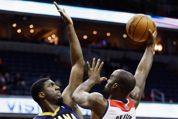 Roy Hibbert Indiana Pacers v Washington Wizards