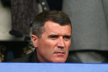 Roy Keane Everton v Manchester United - Premier League