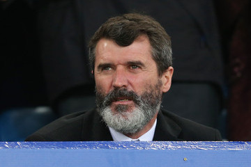 Roy Keane Everton v Stoke City - Premier League