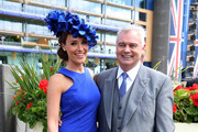Isabel Webster and Eamonn Holmes attend day one of Royal Ascot at Ascot Racecourse on June 17, 2014 in Ascot, England.