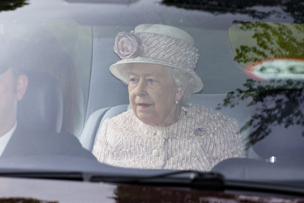 Royal Family Members Attend Crathie Church Near Balmoral