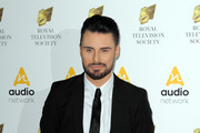 Rylan Clark arrives for The Royal Television Society Programme Awards at The Grosvenor House Hotel on March 22, 2016 in London, England.