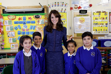 Kate Middleton Continues to Prioritize Kids, Promotes Children's Mental Health Week 2016