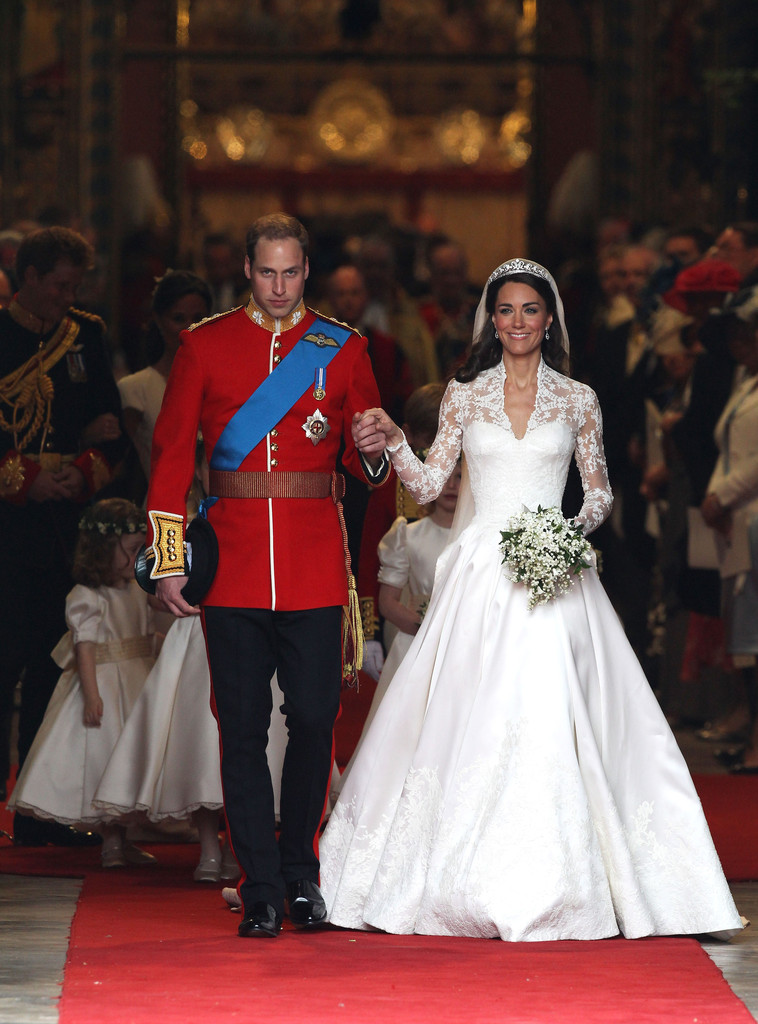 Kate Middleton in Royal Wedding - Carriage Procession To ...