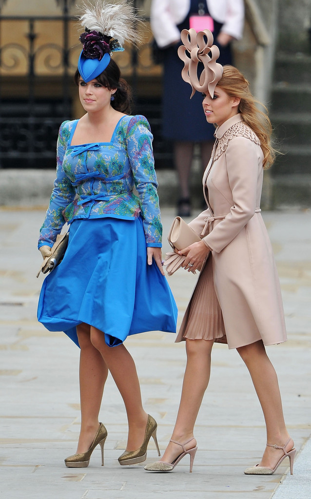 Royal Wedding Beatrice And Funny Hats Princess