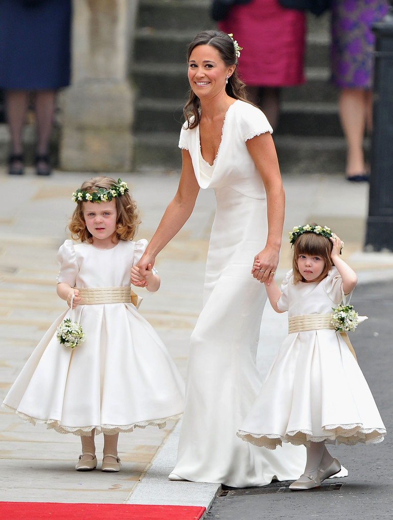 Kate Middleton Sister Maid Of Honor Wedding Pictures
