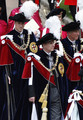 Prince William (L), Prince Charles, Prince of Wales (R) and Prince Andrew, Duke of York (C) take part in the Garter Ceremony Procession up to St George's Chapel on June 15, 2009 in Windsor, England. The Order of the Garter is the senior and oldest British Order of Chivalry, founded by Edward III in 1348. Membership in the order is limited to the sovereign, the Prince of Wales, and no more than twenty-four members.