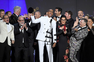 RuPaul Andre Charles Michelle Visage 70th Emmy Awards - Show