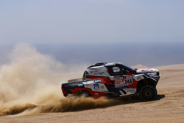 Ruben Faria 2018 Dakar Rally - Day Three