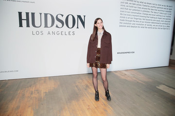 Ruby Aldridge Hudson Jean SS18 Preview Hosted by Kaia Gerber