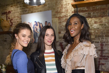 Ruby Aldridge Ubah Hassan Aerie Celebrates #AerieREAL Role Models In NYC