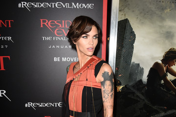 Ruby Rose Premiere Of Sony Pictures Releasing's 'Resident Evil: The Final Chapter' - Red Carpet